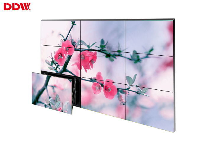 Narrow Design Frameless Video Wall , Lcd Video Wall Display Remote Control